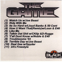 The Game Mix CD Vol. 1